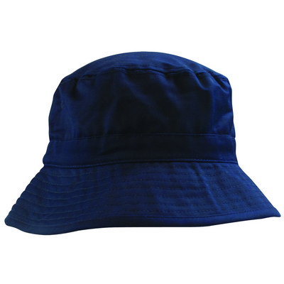6535 PolyCotton Adjustable Bucket - Navy