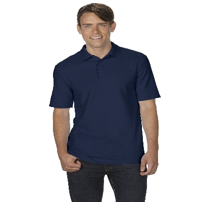 72800 DryBlend Adult Dbl Pique Polo - Navy