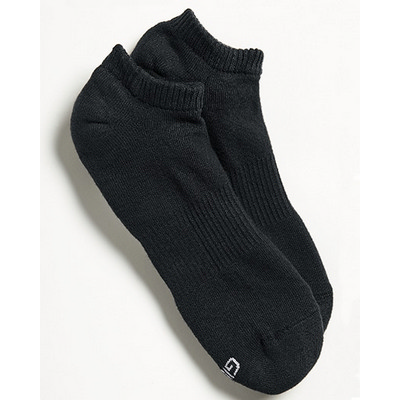Gildan No Show Sock (6 PACK) - Black
