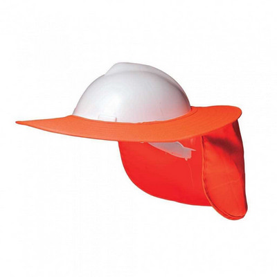 H15700 - Hard Hat Brim - Fluro Orange