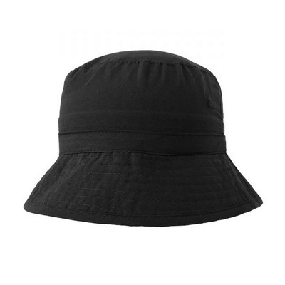6055 Microfibre Bucket Hat - Black