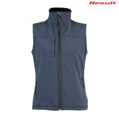 Result Ladies Soft Shell Vest - Navy