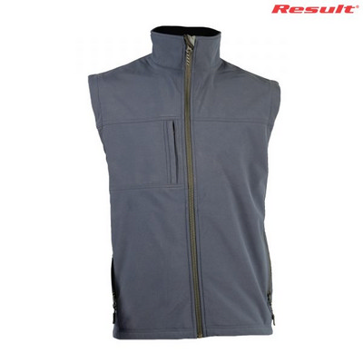 Result Classic Soft Shell Vest - Navy