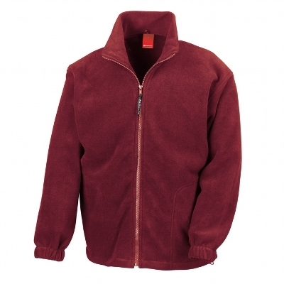 Result Adult 330gsm Polartherm Jacket - Maroon
