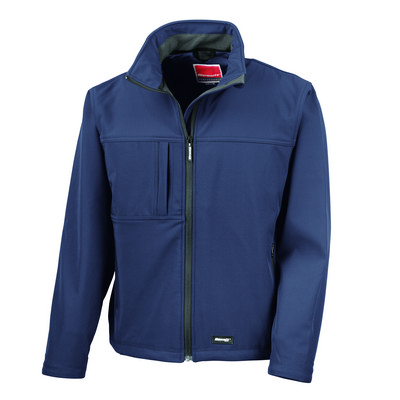 Result Classic Soft Shell - Navy