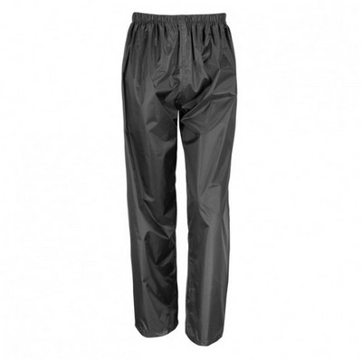 Result Core Youth Rain Pant - Black