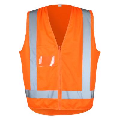 Work-Guard TTMC Safety Vest - Fluro Orange