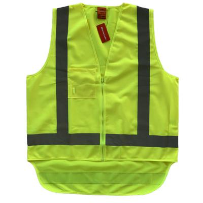 Work-Guard Safety Vest - Fluro Yellow