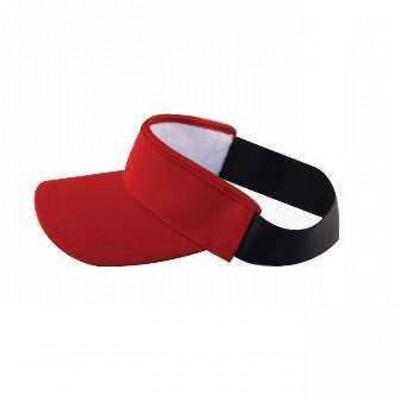HW24 Athlete Elastic Visor - Red HW24