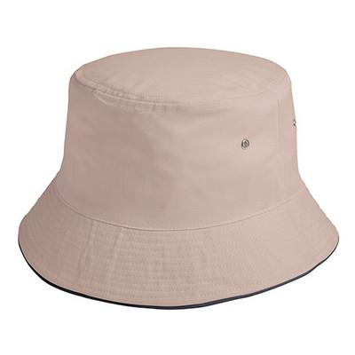 HW24 Sandwich Bucket Hat- KhakiBlack