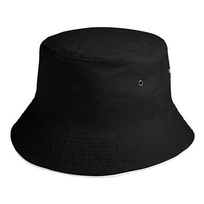 HW24 Sandwich Bucket Hat- BlackWhite