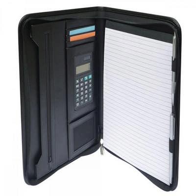 Windsor A4 Zip Compendium with Calculator