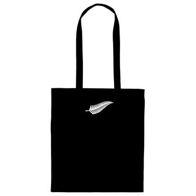 Silver Fern Calico Bag Long Handles