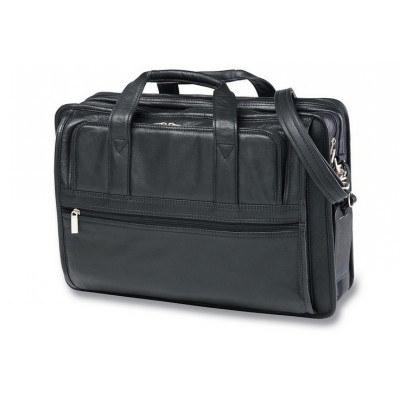 Executive Leather Computer Bag (B64_CC)