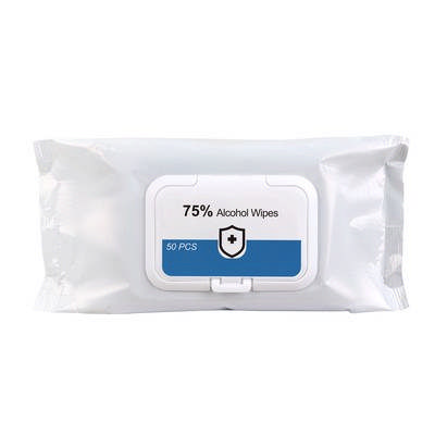 75% Alcohol Wet Wipes - 50PC Pack (PCA02_PC)
