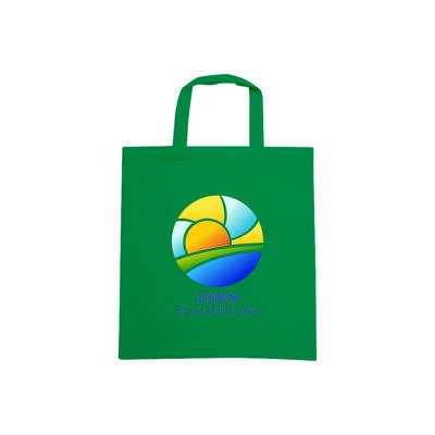 170gsm Short Handle Cotton Bag