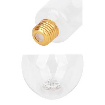 400ml Light Up Bulb Shaped Plastic Bottle