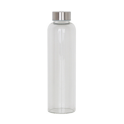 550ml Glass Drink Bottle with PP O-ring Lid