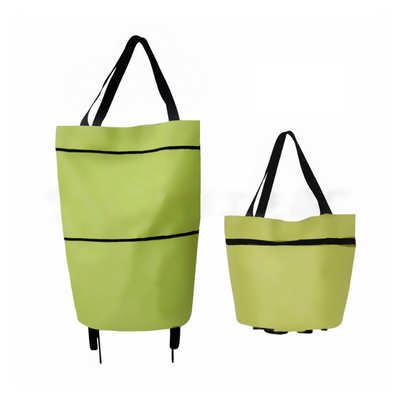 2 In 1 Collapsible Shopping Trolley Bag - (printed with 1 colour(s)) PCPB074_PC