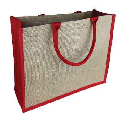 Colourd Jute Tote Bag