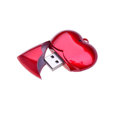 Heart shaped USB Flash drive