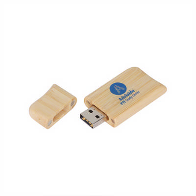 Wooden Butterfly Flash Drive