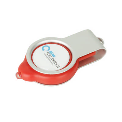 Epoxy Doming Light Up Flash Drive - (printed with 4 colour(s)) PCU922_PC