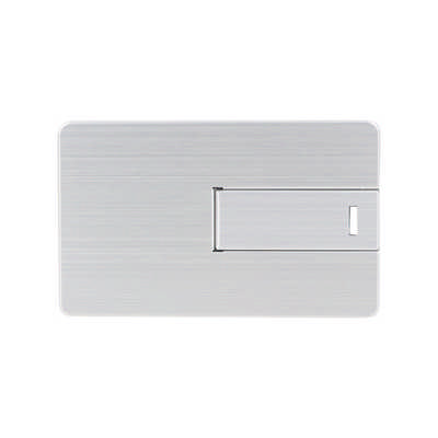 Small Alloy Card Shaped Flash Drive