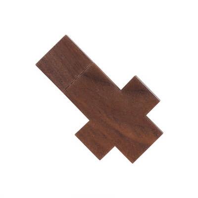 Cross Wooden Flash Drive