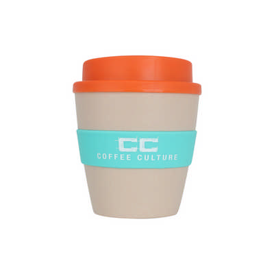 250ml Natural rice husk fibre Coffee Cup