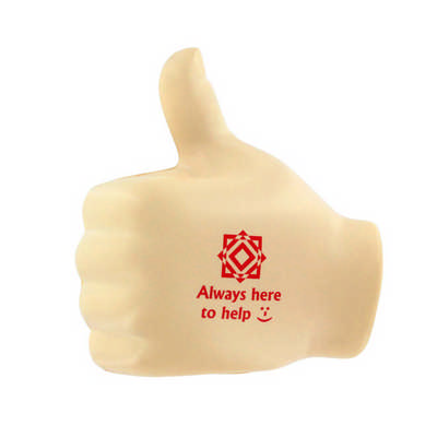 Big Thumb Shape Stress Reliever