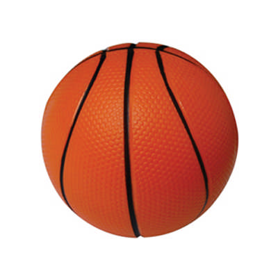 63mm Baseketball Shape Stress Reliever