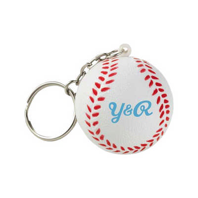Baseball with Keyring Stress Item