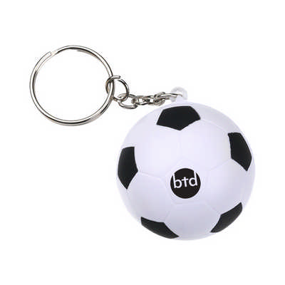 Football with Keyring Stress Item