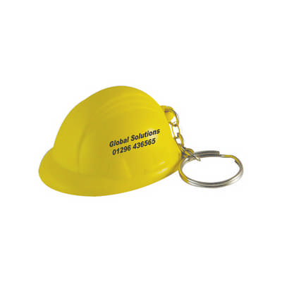 Helmet with Keyring Stress Item