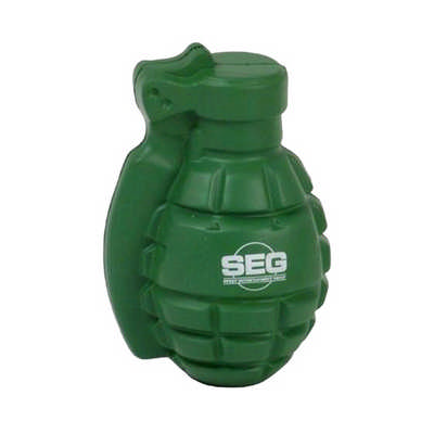 Grenade Shape Stress Reliever