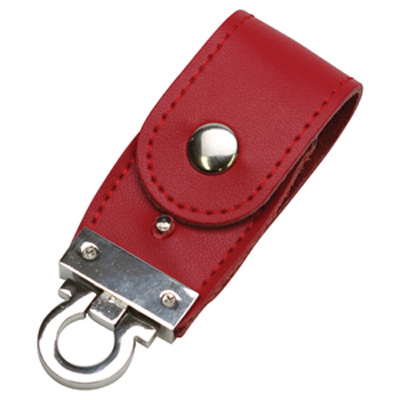 PU Leather Flip Drive 16GB