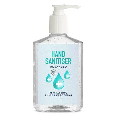 Hand Sanitiser 250Ml Rectangle Bottle Made In China