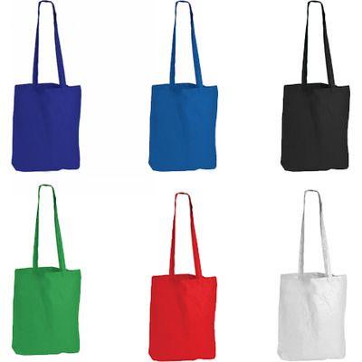 Boston Long Handle Coloured Calico Bag