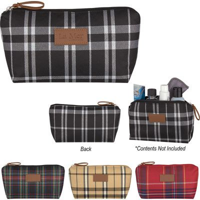 Soho Tartan Cosmetic Bag