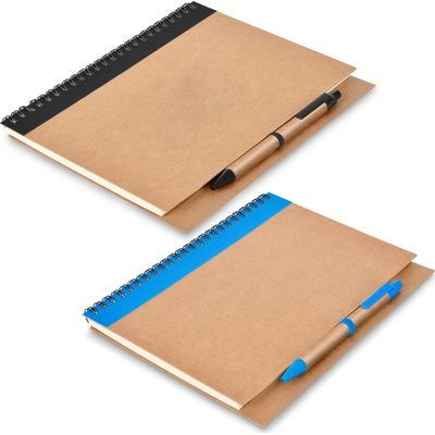 Kalahari A5 Ecological Hard Cover Notebook - (printed with 1 colour(s)) PA1150_bl_PS