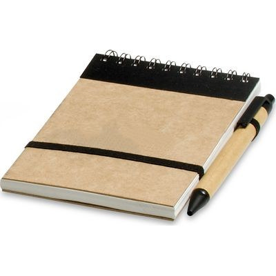 Eco-Logical A6 Notepad - Bl