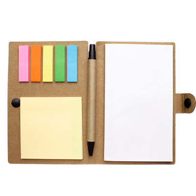 Small Snap Closure Notebook With Desk Essentials PS1350_nt_PS