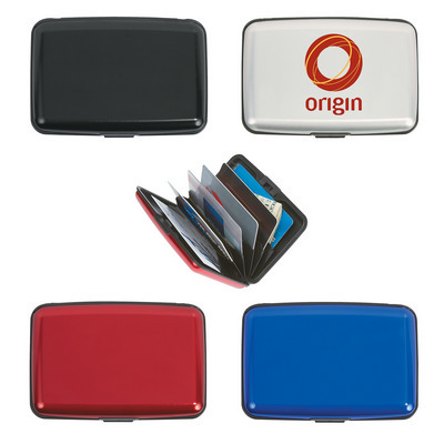Aluminum Card Holder - (printed with 1 colour(s)) PH1633_PS