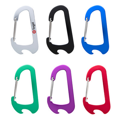 Everest Carabiner Bottle Opener - (printed with 1 colour(s)) PH2065_PS