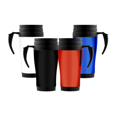 350ml Plastic Travel Mug