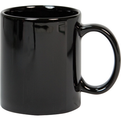 Black Can Shape Mug