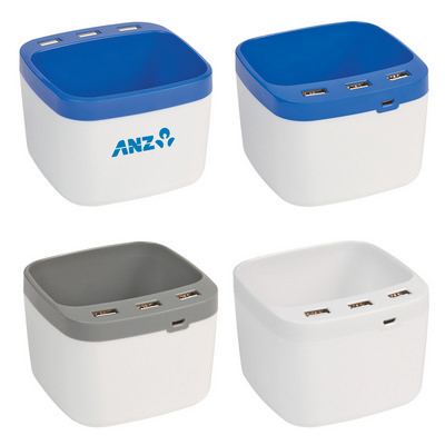 Usb Desk Caddy - (printed with 1 colour(s)) PH2835_PS
