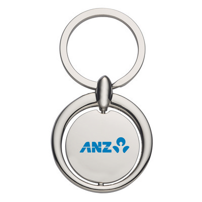 Circular Metal Key Ring (PH4713_PS)