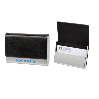 Executive Business Card Holder - (printed with 1 colour(s)) PH4837_PS